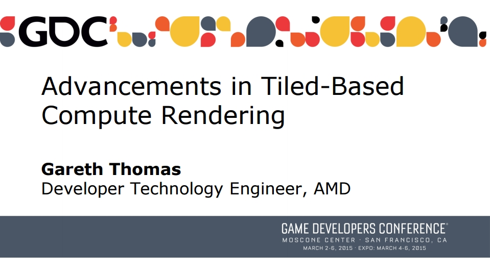 Advancements in Tiled-Based Compute Rendering